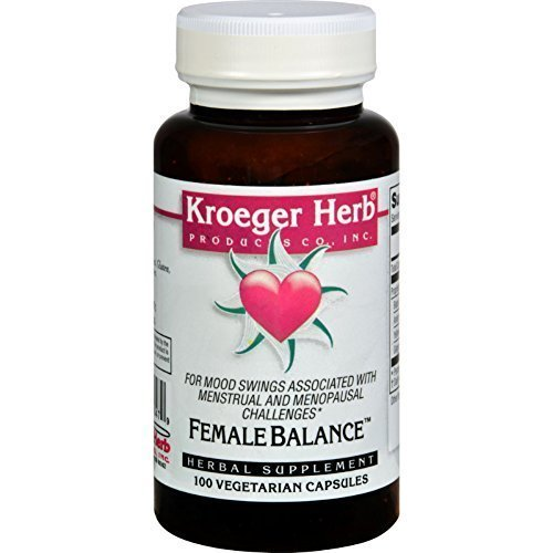 Kroeger Herbs - Herbal Combination Female Balance - 100 Capsules.