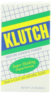 Oakhurst Co. Klutch Denture Adhesive Powder - 1.75 oz