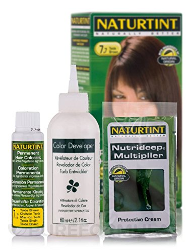 Naturtint - Permanent Hair Colorant 7.7 Teide Brown - 4.5 oz.