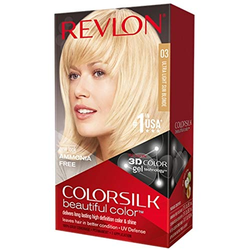 Revlon Colorsilk Beautiful Color, Ultra Light Sun Blonde 03 - 1 ea,