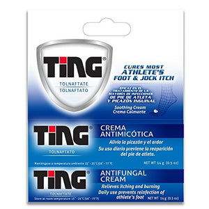 Ting Therapeutic Foot Care Cream - 0.5 oz