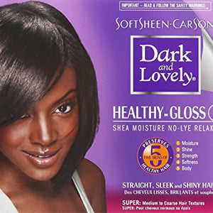Soft Sheen Carson Dark And Lovely Hair Color, Plus Creme Relaxer Kit - 1 ea