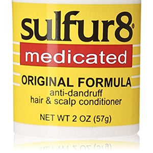Sulfur8 Medicated Regular Formula Anti-Dandruff Hair and Scalp Conditioner - 2 oz