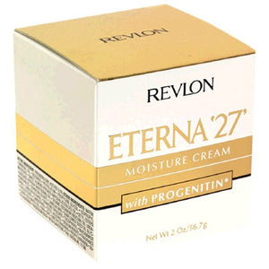 Revlon Eterna '27' Moisture Cream with Progenitin, Jar -  2 oz