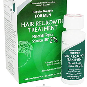 Minoxidil 2%Regular Strength Hair Regrowth Treatment Solution -  60 ml