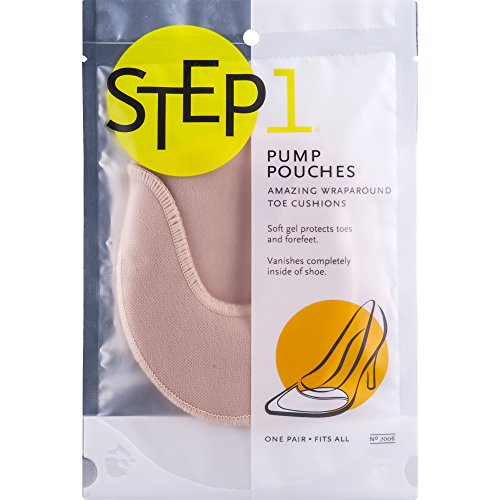 Step 1 Pump Pouch Toe Cushions - 1 Pair
