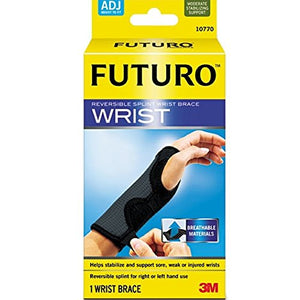 Futuro Wrist Brace Reversible Splint, Moderate Stabilizing Support, Adjust to Fit - 1 ea.