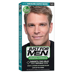 Just For Men Shampoo-In Haircolor, Dark Blond 15 - 1 ea.