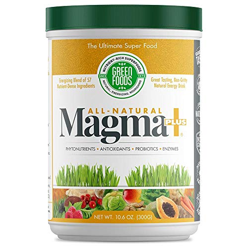 Green Foods Corporation, Magma Plus, Nature's Energy Drink - 10.6 oz.