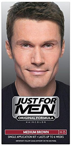 Just For Men Shampoo-in Hair Color, Medium Brown - 1 ea.