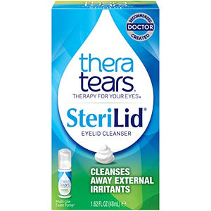 Thera Tears Sterilid Eyelid Cleanser - 48 ml