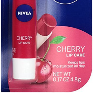 Nivea SPF 10 A Kiss of Cherry, Fruity Lip Care - 0.17 OZ