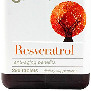 Youtheory, Resveratrol, 290 Tablets.