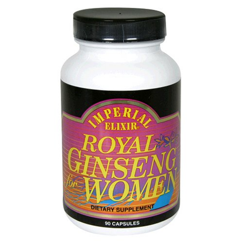 Imperial Elixir - Royal Ginseng For Women - 90 Capsules