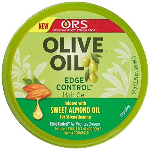 Organic Root Stimulator Hair Gel Edge Control, Olive Oil - 63.8 gm