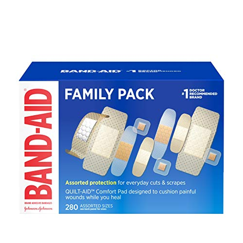 Johnson and Johnson band aid variety pack assorted - 280 ea