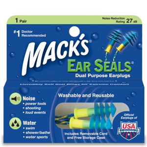 Mack's Dual Purpose Earplugs - 1 Pair