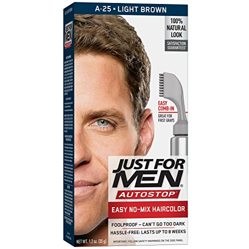 Just For Men Autostop Light Brown A - 25 - 1 ea