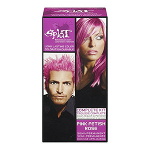 Splat Pink Fetish Rebellious Hair Color  - 1 ea