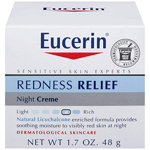 Eucerin Redness Relief Soothing Night Cream - 48 gm