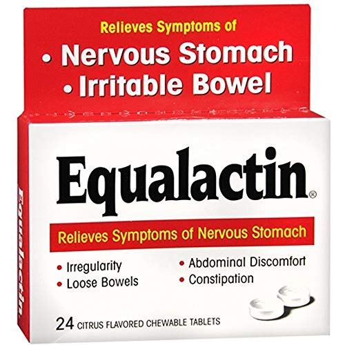 Equalactin Citrus Flavored Tablets - 24 ea