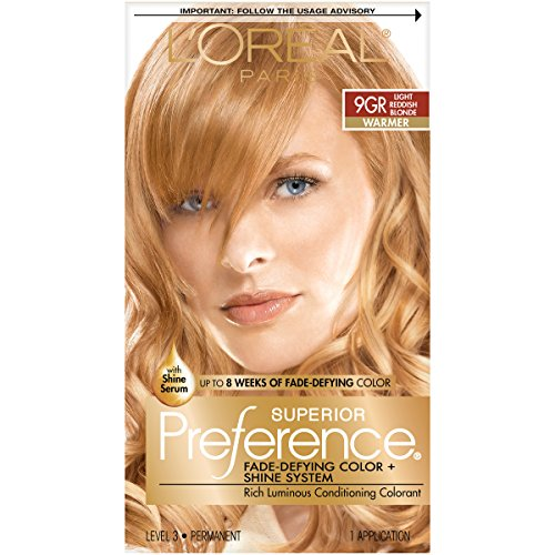 Loreal Hair Color,# 9GR Light Golden Reddish Blonde 1 ea.
