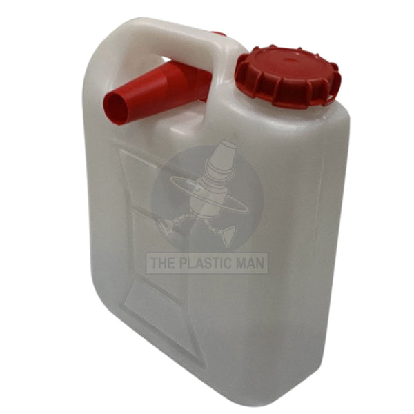 Jerry Can Flat 5L With Funnel - Jcflat5 Bottles Drums & Cans