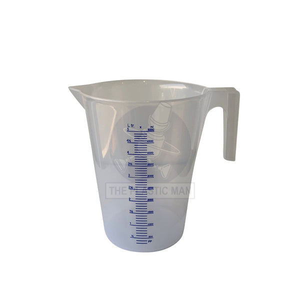 Measuring Jug Heavy Duty 5L - Mjhd5 Measuring Jugs Funnels & Scoops