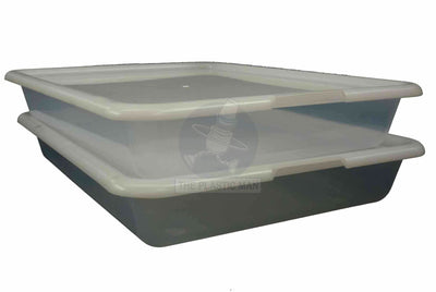 Clear Multi Purpose Tray 10Lt - Clrtry Storage Boxes & Crates