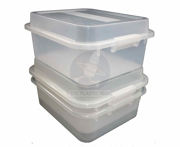Storage Box 12Lt - Drnbas Storage Boxes & Crates