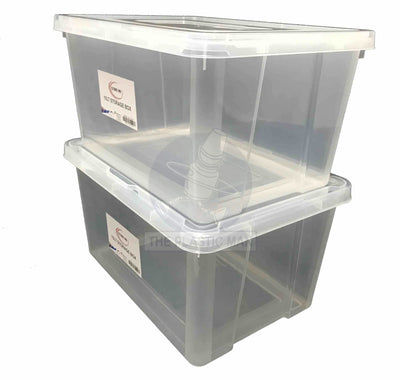 Storage Box Rectangle Medium 15Lt - Sbrecm Storage Boxes & Crates