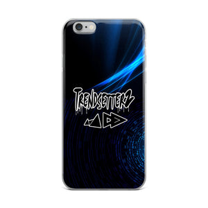 Blue Icy iPhone Case