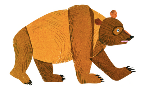 Original Eric Carle artwork for Brown Bear, Brown Bear What do you See?