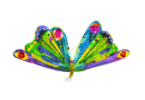 The Very Hungry Caterpillar Eric Carle Butterfly