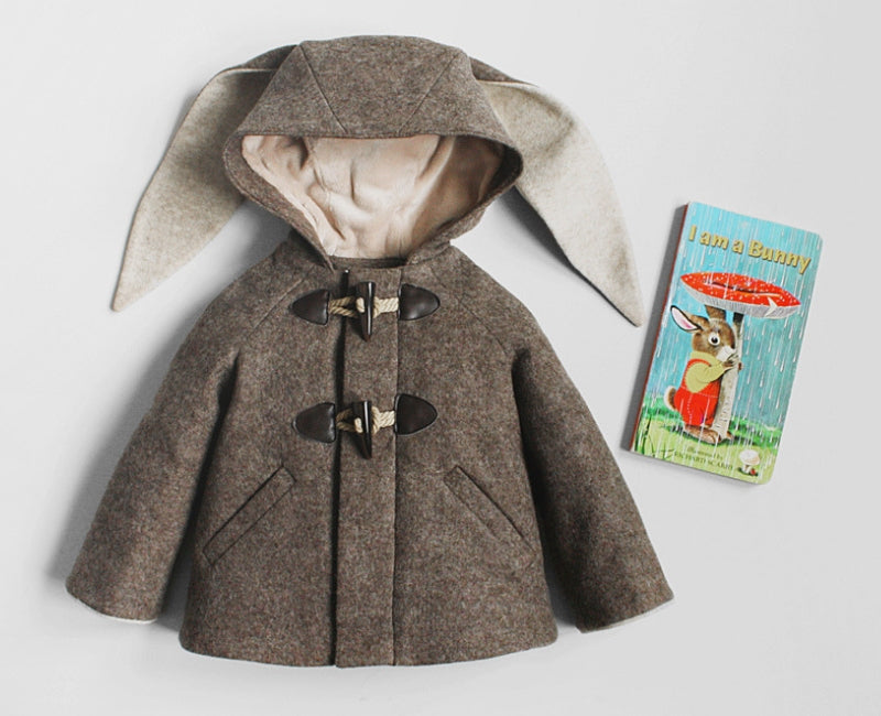 Little Goodall Flopsy Bunny Coat with I Am A Bunny by Richard Scarry and Ole Rissom