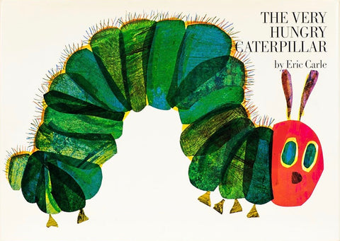 The Very Hungry Caterpillar children's book by Eric Carle
