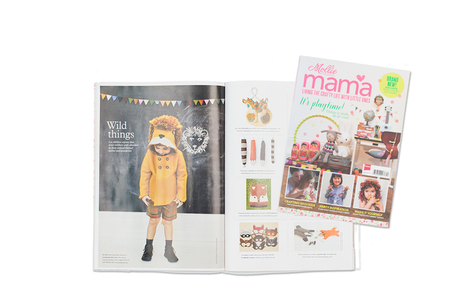 Little Goodall Designer Childrenswear on Mollie Makes Mama