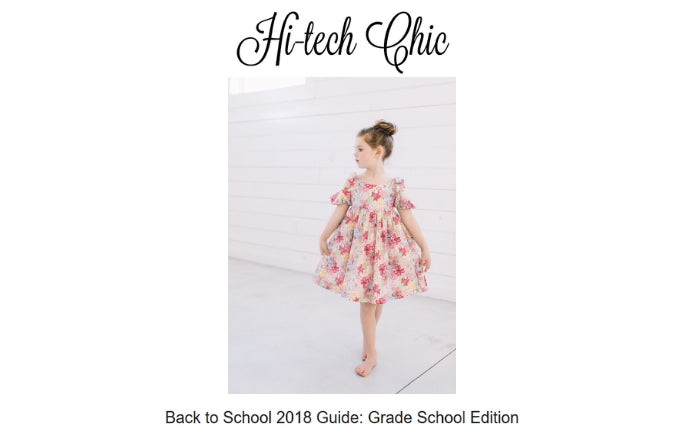 Little Goodall Designer Childrenswear on Hi-tech Chic