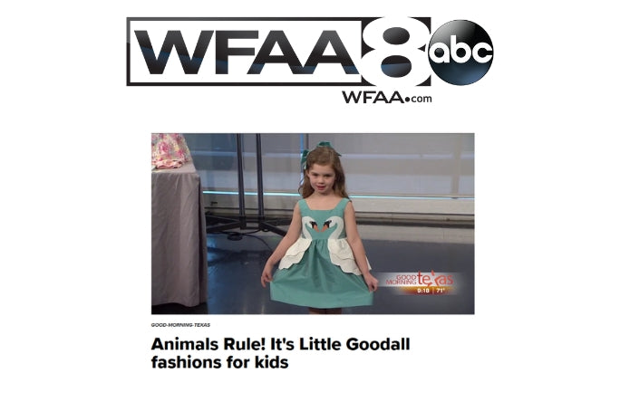 Little Goodall Designer Childrenswear on ABC News
