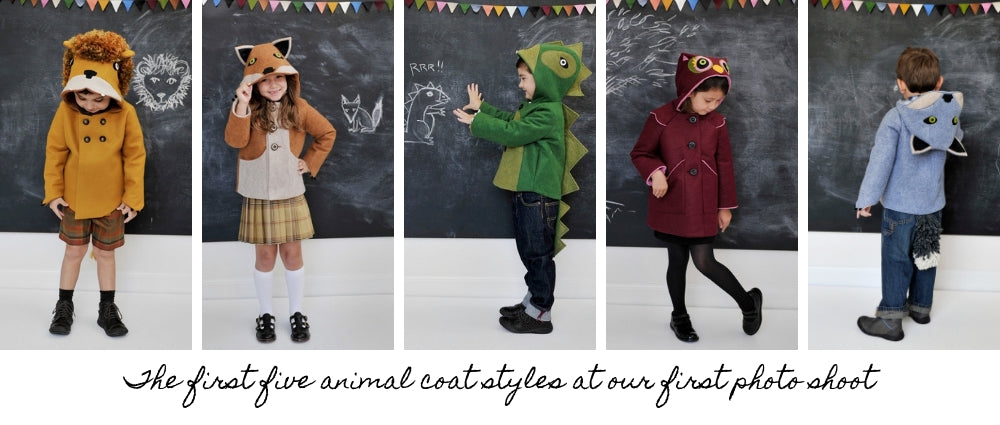 Little Goodall Coat Styles