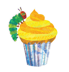 The Very Hungry Caterpillar cupcake