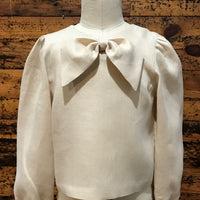 Limited Edition Amélie Dress and Linen Bow Blouse