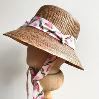 Childrens Beachcomber Hat in choice of Willa Heart Prints