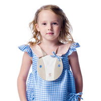 Blue Gingham Bunny Love Dress
