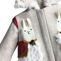 Lucky Llama Coat -Sizes 5 and 6 Years