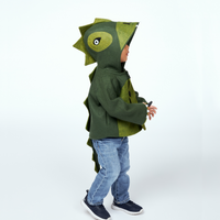 Cheeky Green Dinosaur Coat