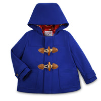"Paddington Gift Set: Classic Wool Duffle Coat with 10"" Soft Toy"