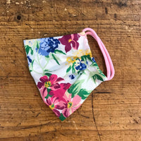 Adult Cotton Mask in Pink Hydrangea Liberty London Print