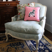 Yolanda the Zebra Decorative Pillow - Willa Heart Collection
