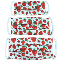 Very Hungry Caterpillar™ Cotton Mask in World of Eric Carle™ Strawberries Print